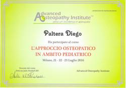 osteopata pediatrico