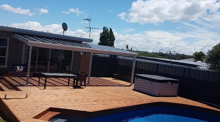 Remuera new pool deck