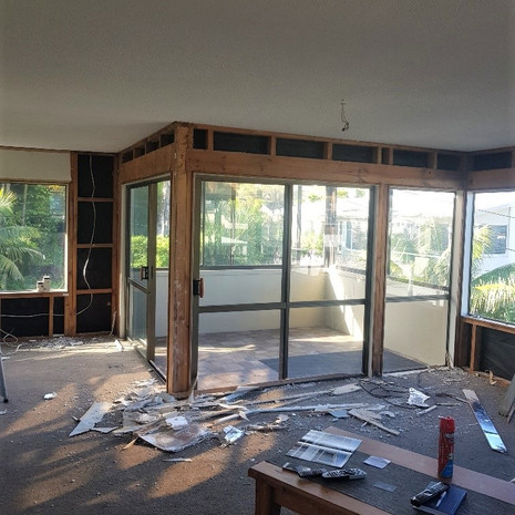 Browns bay interior gut out