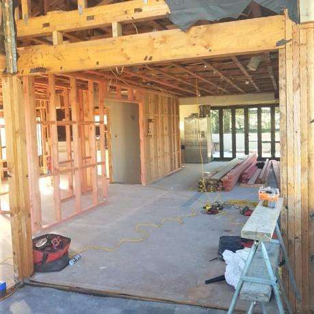 Browns bay renovation interior
