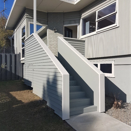 Remuera new stairs and path