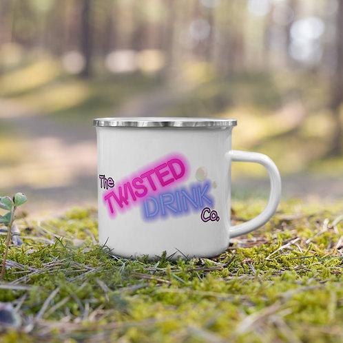 Twisted Enamel mug