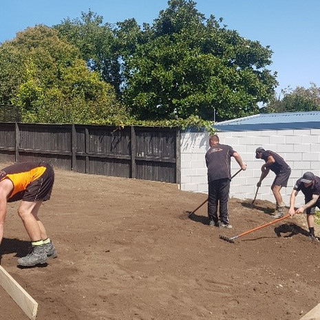 Team landscaping