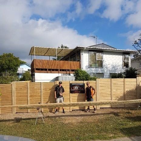 Glenfield new fence