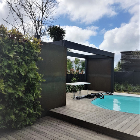 Decking and pool structure