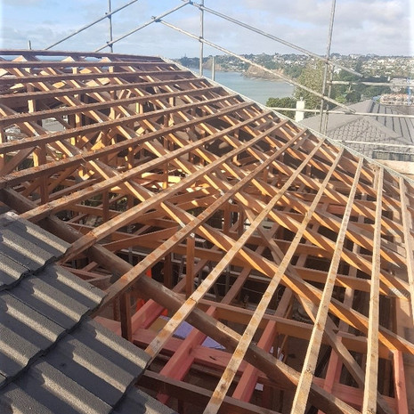 Browns Bay roof removal