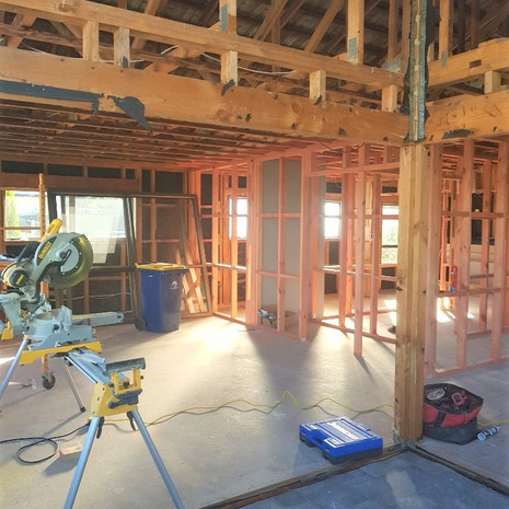 New internal framing for new layout