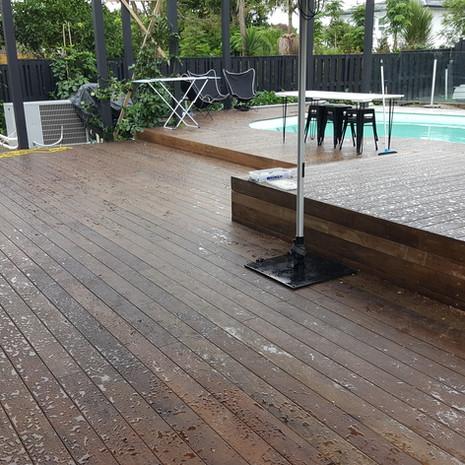 New deck - Meadowbank