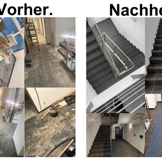 Beispiel Bauendreingung : Vorher und Nachher