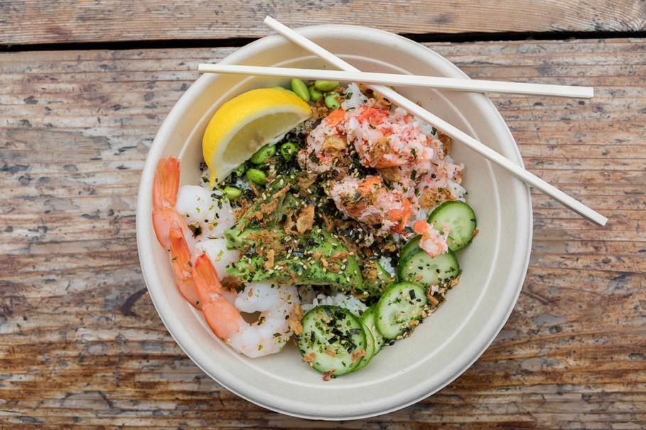 Lobster and Shrimp Bowl