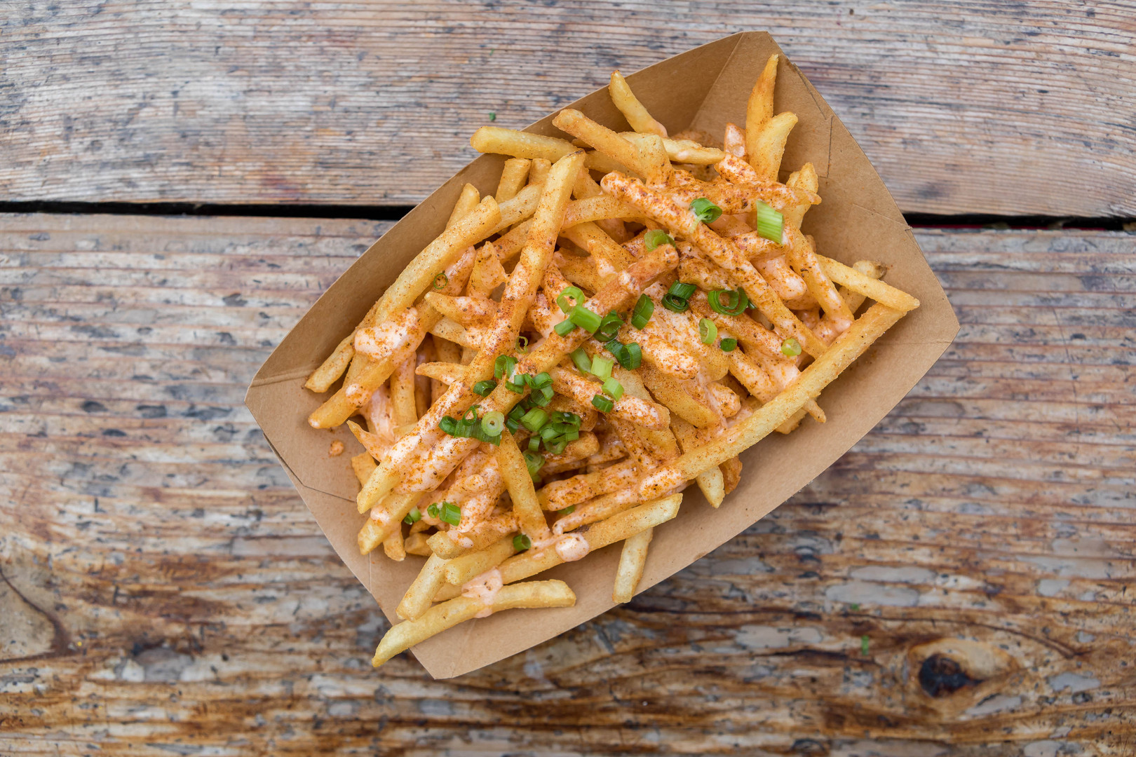 Old Bay Cheese Fries