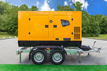 Mobile diesel charge generator for emerg