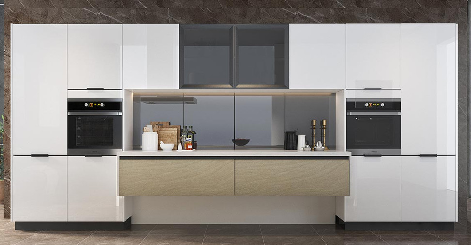 High-Gloss-White-Lacquer-Kitchen-With-Is