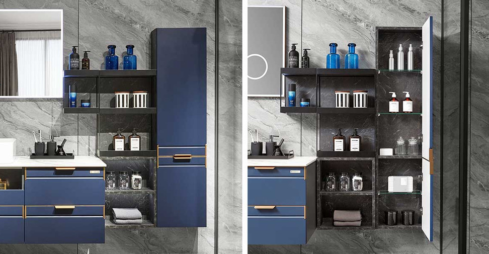 Navy-Blue-Lacquer-Bathroom-Cabinet-PLWY2