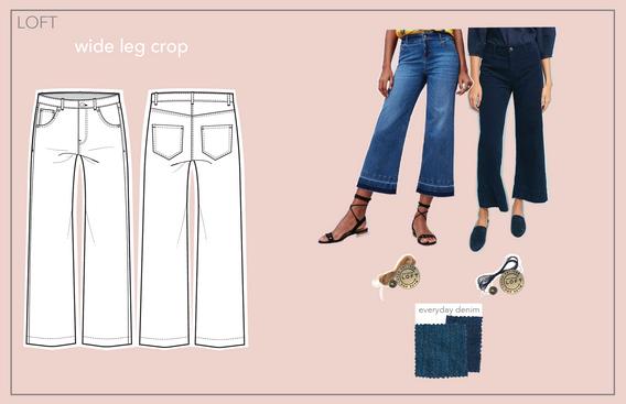 wide leg crop