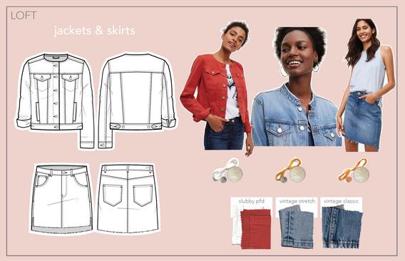jackets & skirts