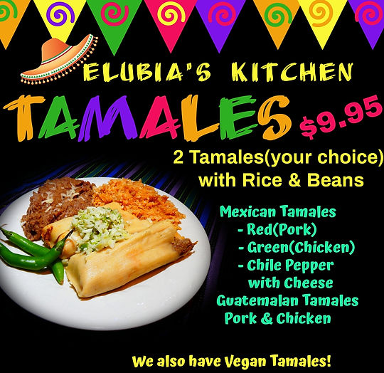 santa barbara Vegan tamales buy order.jp