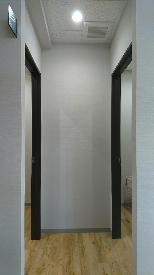 更衣室は2か所