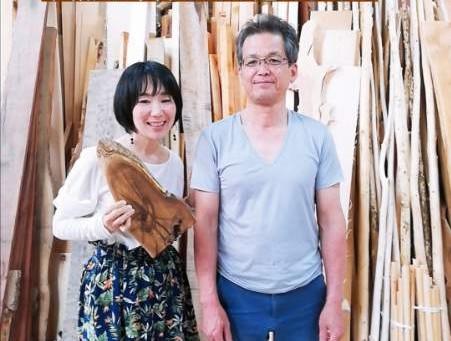 木職人・中井さんにお逢い出来ました
