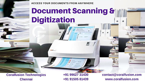 Document Scanning and Digitization in Chennai