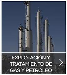 explotacion y tratamiento de gas y petróleo