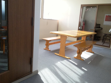 アグロスピアノ教室室内