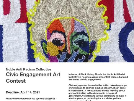 Noble Anti Racism Collective Civic Engagement Art Contest