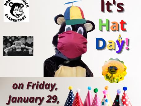 It's Hat Day tomorrow!