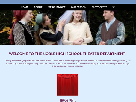 Noble High School Theater Department presents an evening of One Act Plays, February 26 and 27 at 7pm
