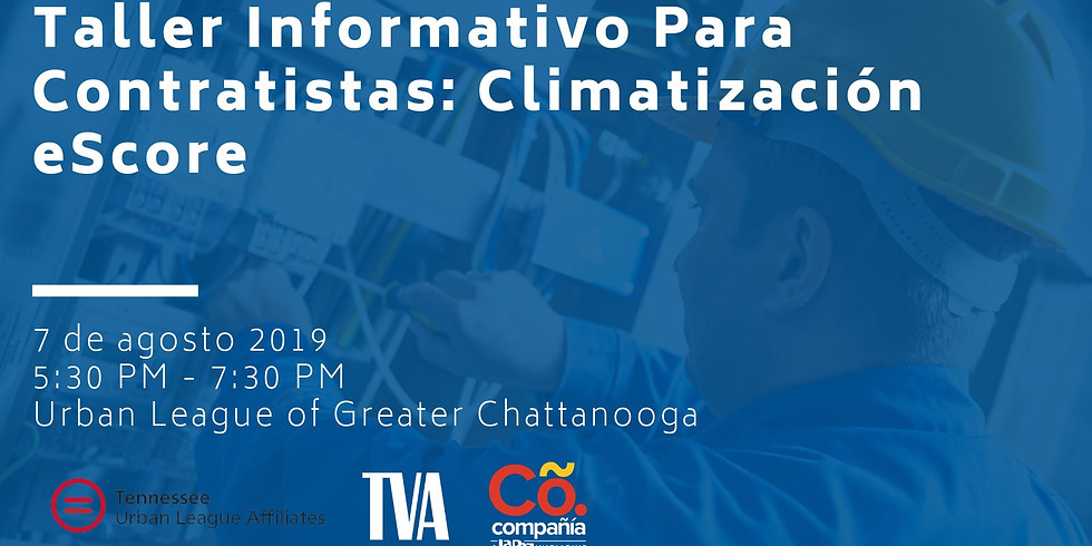 Taller Informativo para Contratistas: Climatizacion eScore