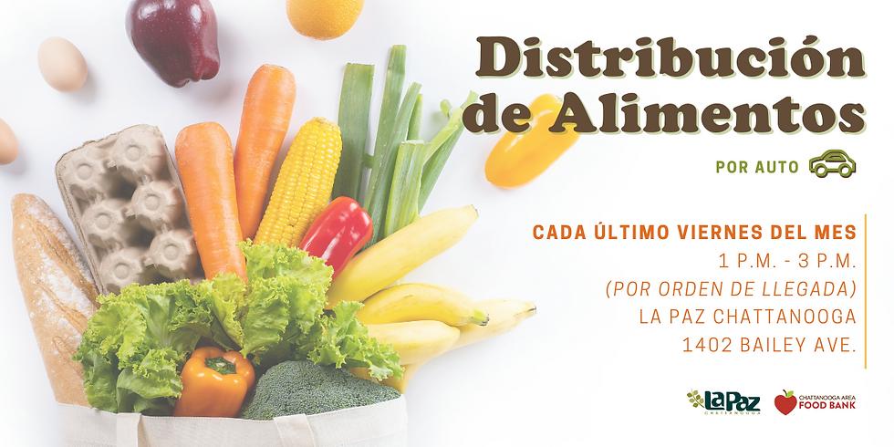 Distribución de Alimentos con Chattanooga Food Bank