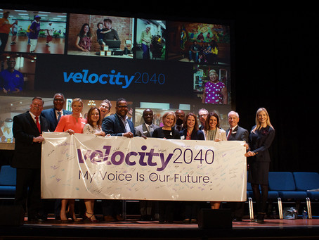 Velocity2040: Results and next steps