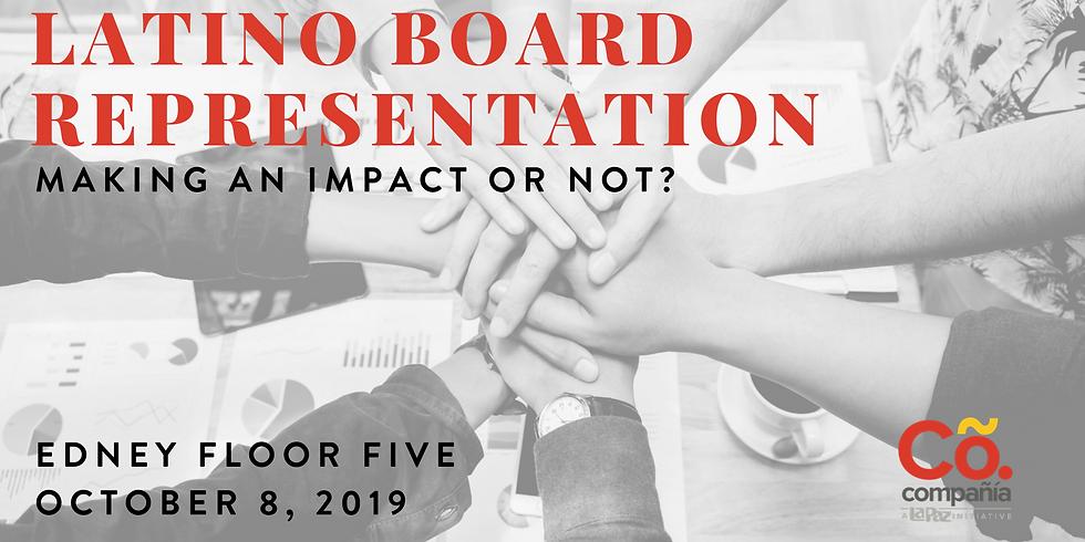 Latino Board Representation