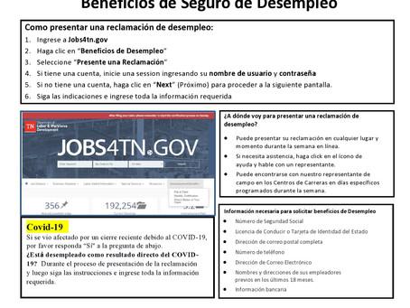 Guia de Beneficios de Desempleo en Español