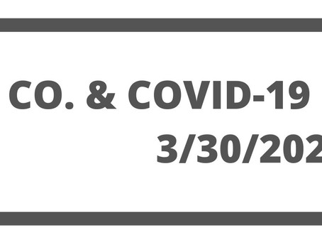 Resources for Small  Businesses during COVID-19, March 30