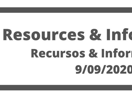 Co. Resources and Information 09/09/20