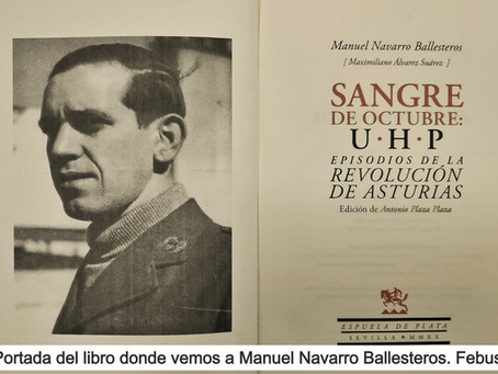 Antonio Plaza rescata a Manuel Navarro Ballesteros