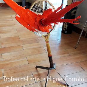 Un obra de arte para el torneo Lilí Álvarez