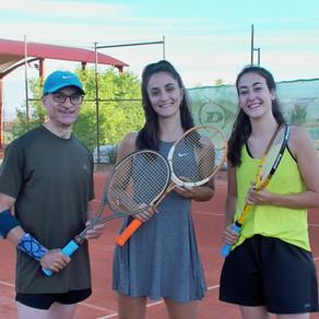 Torneo de tenis vintage vídeo 3