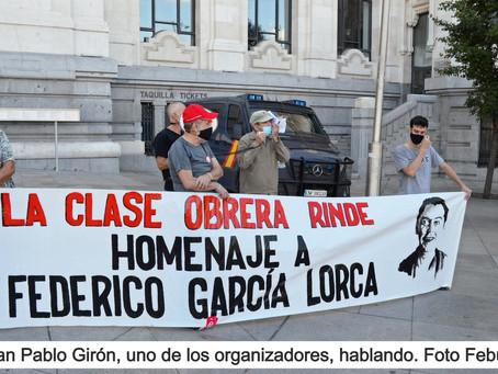 Madrid reivindica a Federico García Lorca