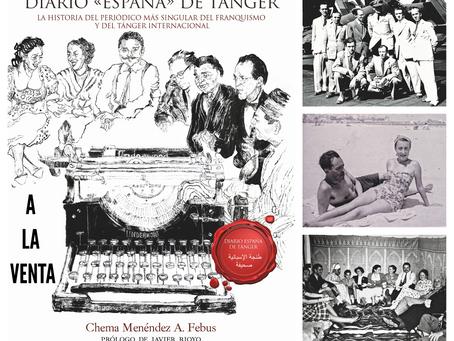 Ya la venta el libro Diario 'España' de Tánger