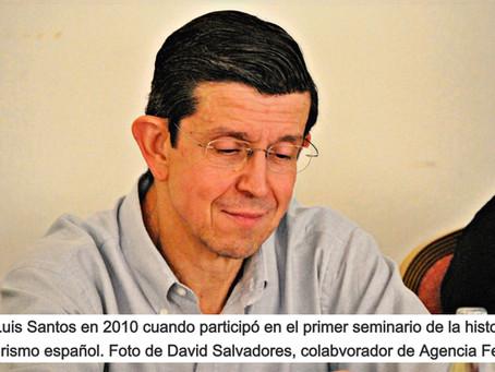 Ha fallecido el pionero José Luis Santos