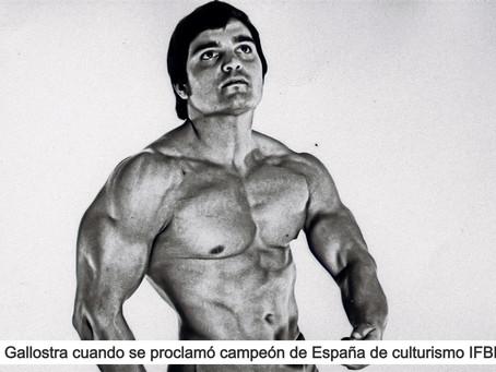 Jaime Gallostra, el primer campeón de culturismo