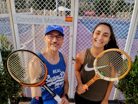 Torneo de tenis vintage vídeo 2