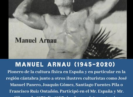 Fallece Manuel Arnau, pionero del culturismo cántabro