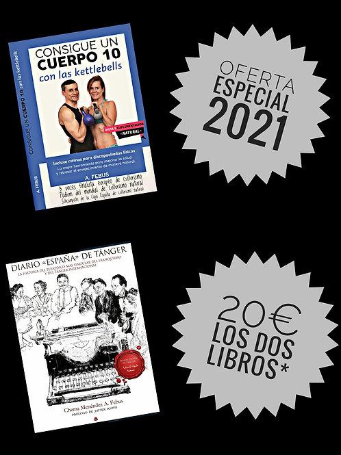 Oferta especial pack salud e historia (pedidos solo por whatsapp o email)