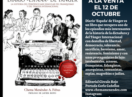 Diario 'España' de Tánger a la venta en octubre