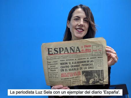 Luz Sela opina del libro Diario 'España' de Tánger