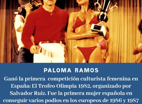 Paloma Ramos, pionera del culturismo español