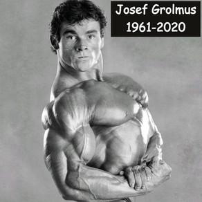 Fallece el culturista Josef Grolmus